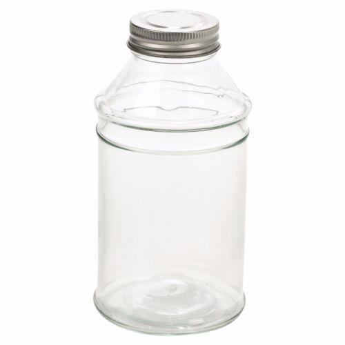 4 8 12 verre alimentaire préserver de Rangement Cuisine Bocal cuisine Vis Couvercle Pâtes Riz lait
