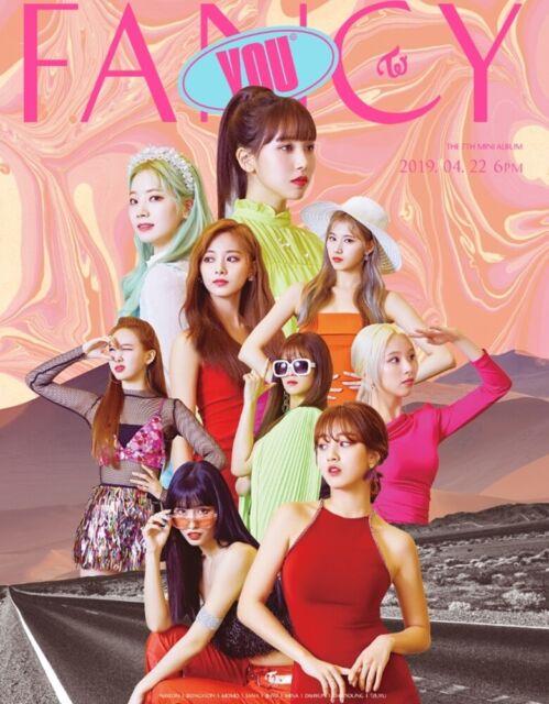 c3e5d0ced26 Twice Fancy You 7th Mini Album 3 Ver Set CD P.benefit Folded Poster ...