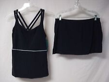 NWT Women's USA Made Penbrooke 2 Piece Tankini Swimwear Size 8 Navy #644J