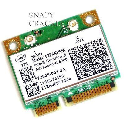 HP Pavilion DV5 DV5T DV6T DV7T DV8 DV8T Dual Band Advanced N Wireless WIFI Card
