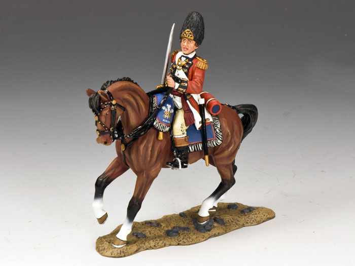 KING AND COUNTRY Mounted Fusilier Officer BR90 BR090