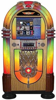 Rock-Ola Bubbler Digital Round Top Jukebox - American Made Classic   eBay