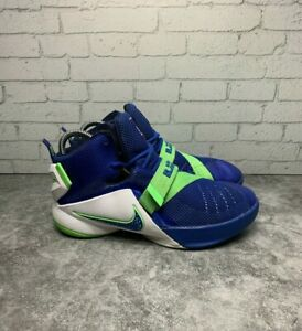 Nike-Lebron-1X-Soldiers-Sneakers-Basketball-Shoes-776471-441-Size-4y