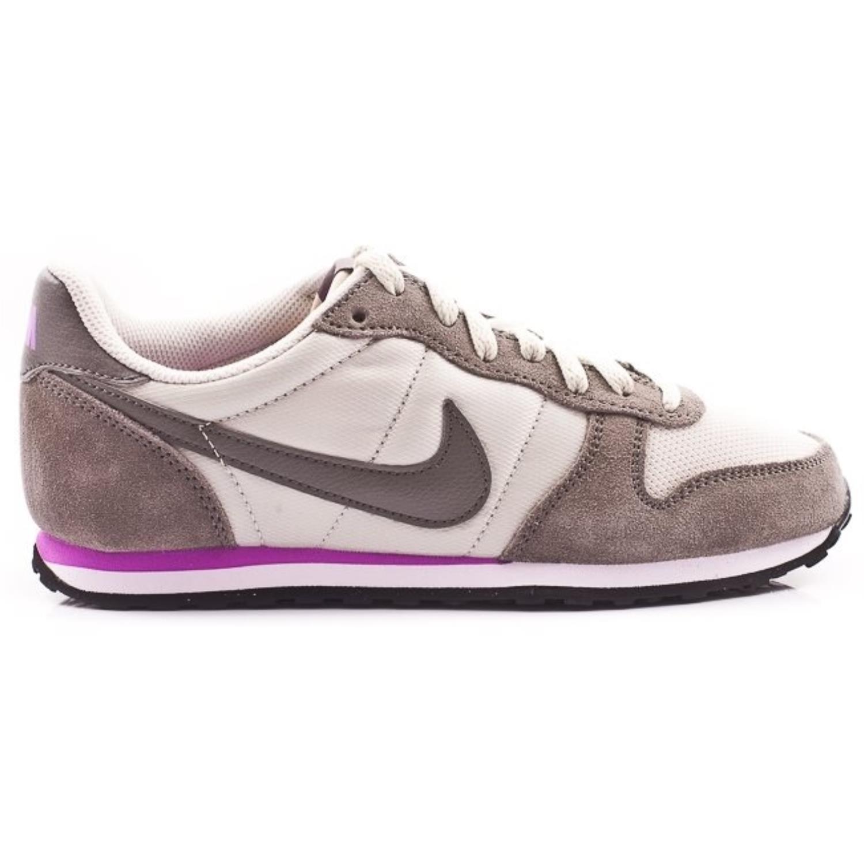 NEW Nike Women's Genicco Light Brown Pewter Grey White 644451 050
