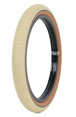 1 x SHADOW CONSPIRACY SERPENT BMX BIKE TIRE 2.3 FIT HARO CULT SUBROSA GOLD LINE