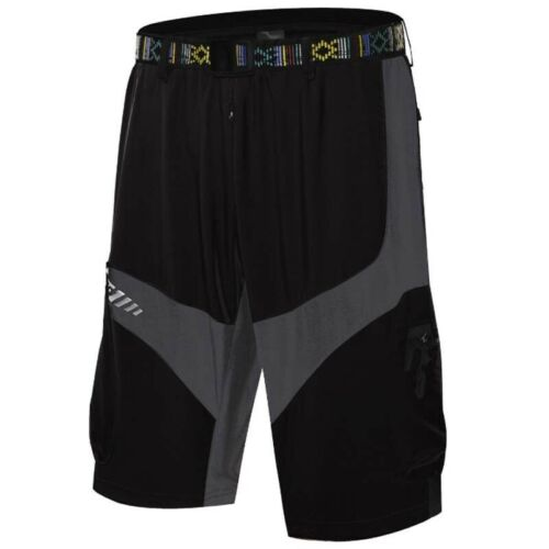 Men Mountain Road MTB Bike Bicycle Casual Shorts Outdoor Cycling Gear Zip Pocket