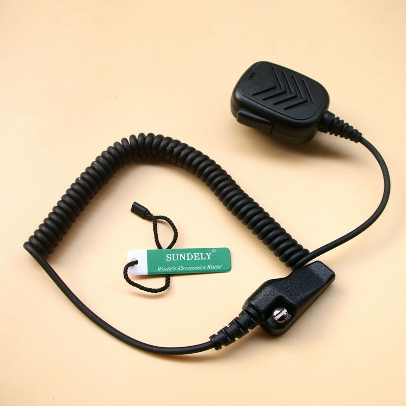 1PCS Shoulder Speaker Mic Remote Microphone For Kenwood NX-200 NX-300 NX-200G