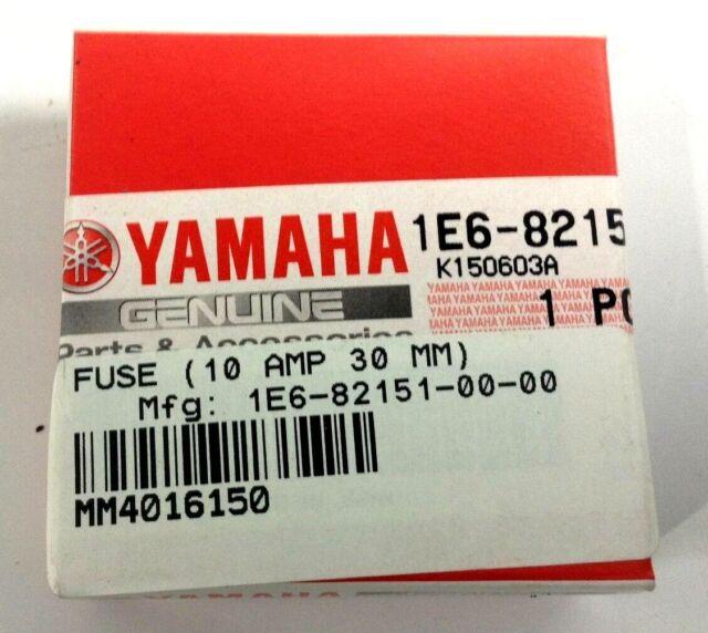Yamaha Fuse 1E6-82151-00-00 Boat//Marine 10 AMP 30 MM