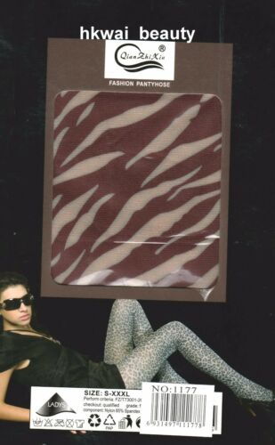 A Check Pattern Opaque Tights Pantyhose 0107
