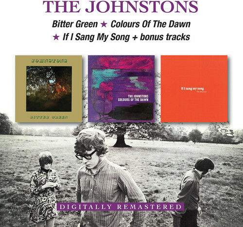 The Johnstons - Bitter Green / Colours Of The Dawn / If I Sang My Song [New CD]