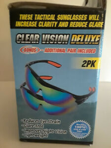 Clear-Vision-Deluxe-Tactical-Sport-Polarized-Sunglasses-2PK-Free-Shipping