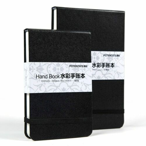 300gsm 24 Sheets Watercolor Pad Sketch Stationery Notebook Drawing Sketch Supply