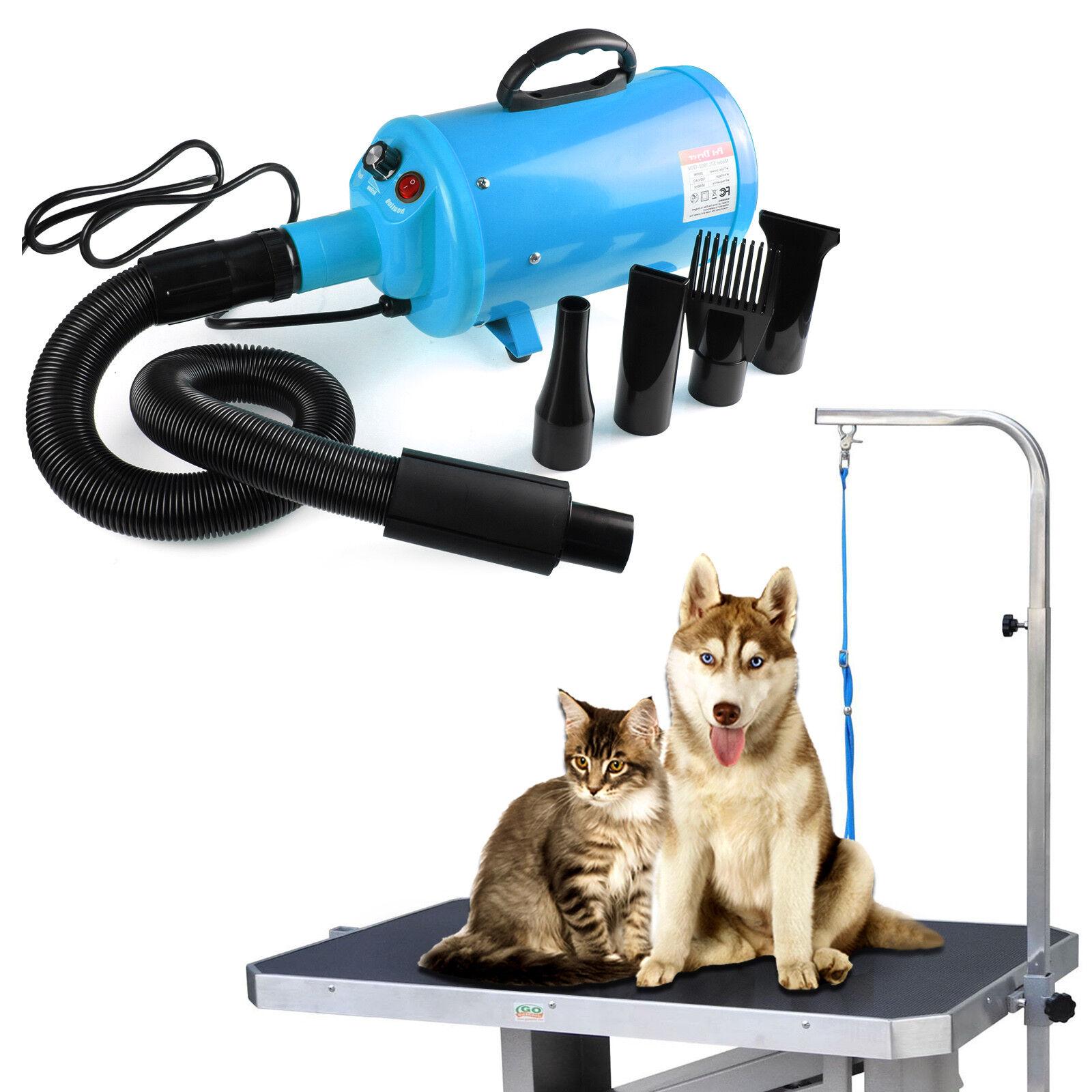 2200W Elektrischer Tierfön Haartrockner Hund Katze Haustiere Dryer Hundefön Föhn