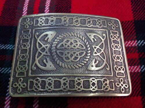 TC Men's Kilt Belt Buckle Celtic Knot Antique Finish//Celtic Knot Belt Buckle