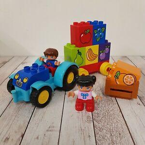 DUPLO-LEGO-Mon-premier-tracteur-set-10615-complet-avec-Boy-amp-Girl-figures