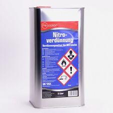 5 Liter Nitroverdünnung Nitro Verdünnung von Recolor für Autolack /E0076