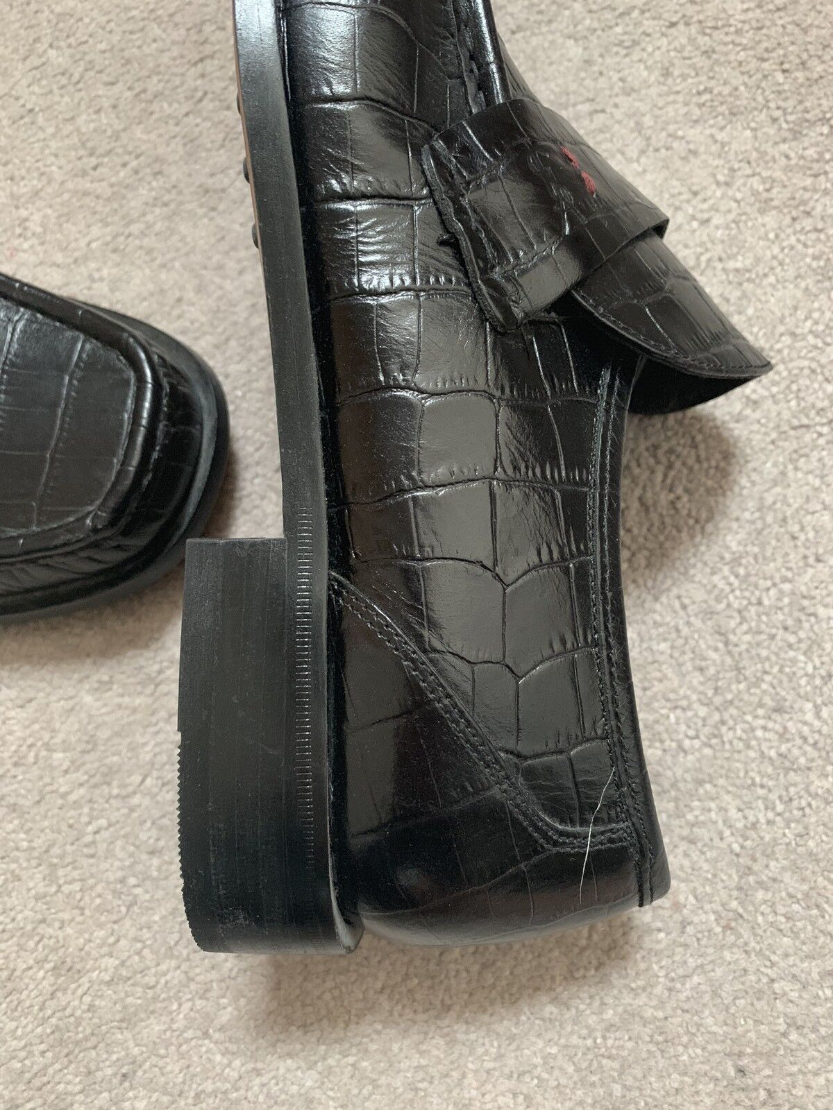 Yves Yves Yves Saint Laurent Homme Chaussures Taille 8 NEUF ae4c08