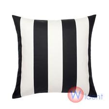 Buy Ikea Vargyllen Striped Pillow Cover Cushion 20x20 Black White