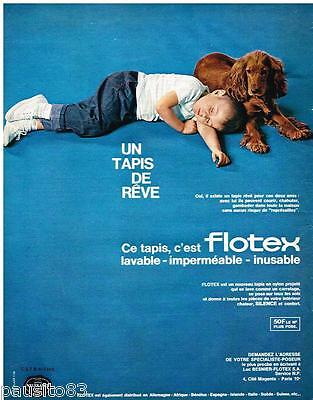Publicite Advertising 095 1964 Les Tapis Nylfrance Flotex Beautiful In Colour Other Breweriana