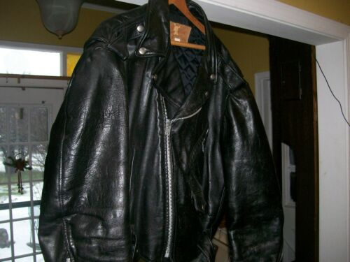 Excelled Leather Motor Cycle jacket  men's Vintag
