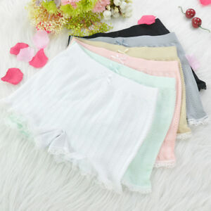 b70881479883 Sexy Hot Lace Women Safety Short Pants Middle Waist Women Boyshorts ...