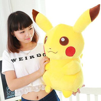 New Pokemon Pikachu Figures Soft Stuffed Plush Doll Kids Children Baby Toy Gift