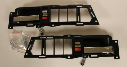 GMC C1500 INSIDE DRIVER CHROME LEFT RIGHT DOOR HANDLE 1990 1991 1992 1993 1994