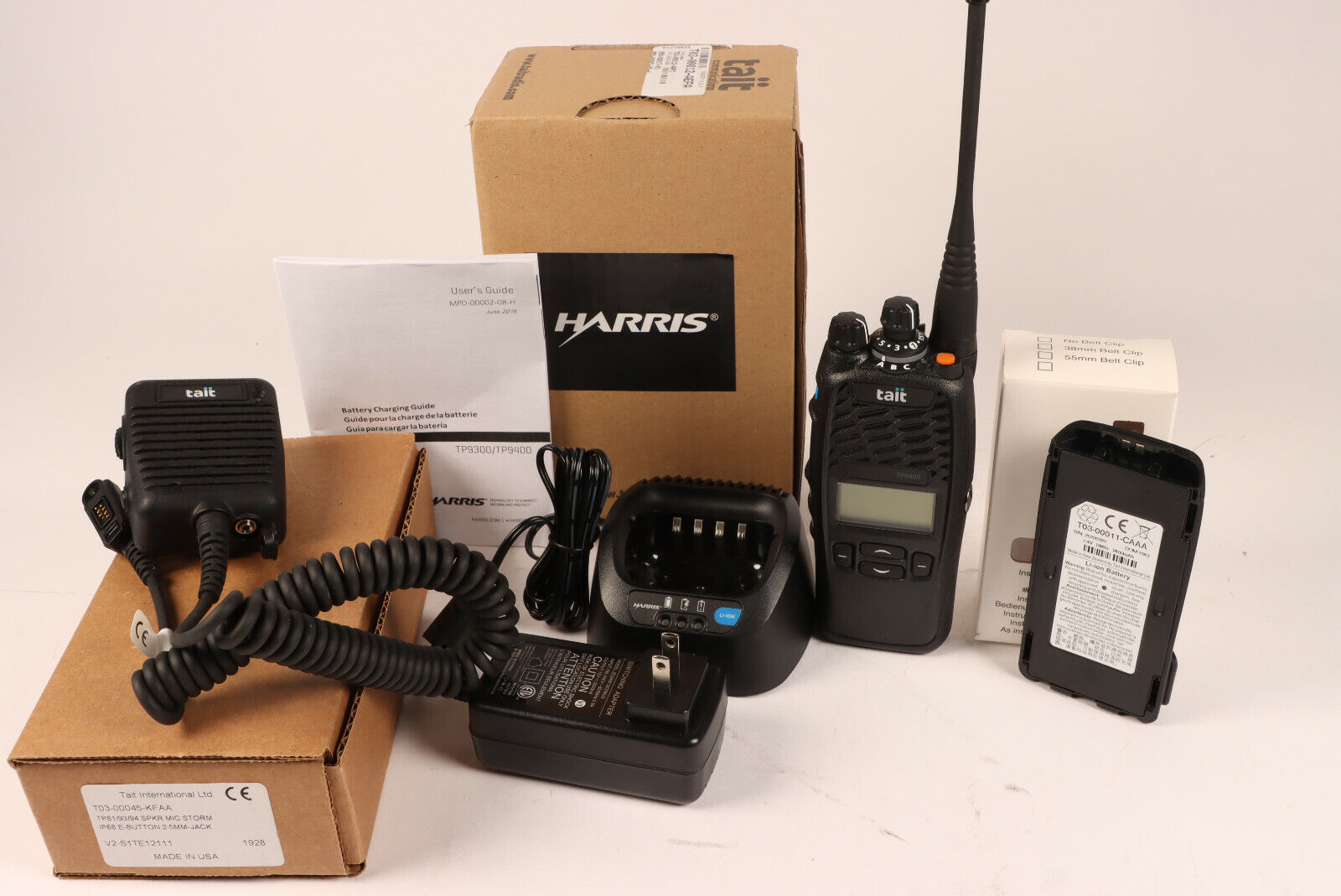 Tait Harris TP9400 P25 Phase 1 trunking UHF R2 450-520MHz . Buy it now for 600.00