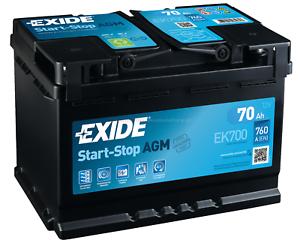 Exide-ek700-AGM-Batterie-de-Voiture-12-V-70ah-en760a-Start-Stop-Batterie-De-Demarrage-Voiture