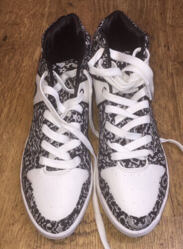 Paisley Noires 6 New Blanches Taille Uk Bnwt € Look Montantes Baskets 20 xIgwcqwfBX