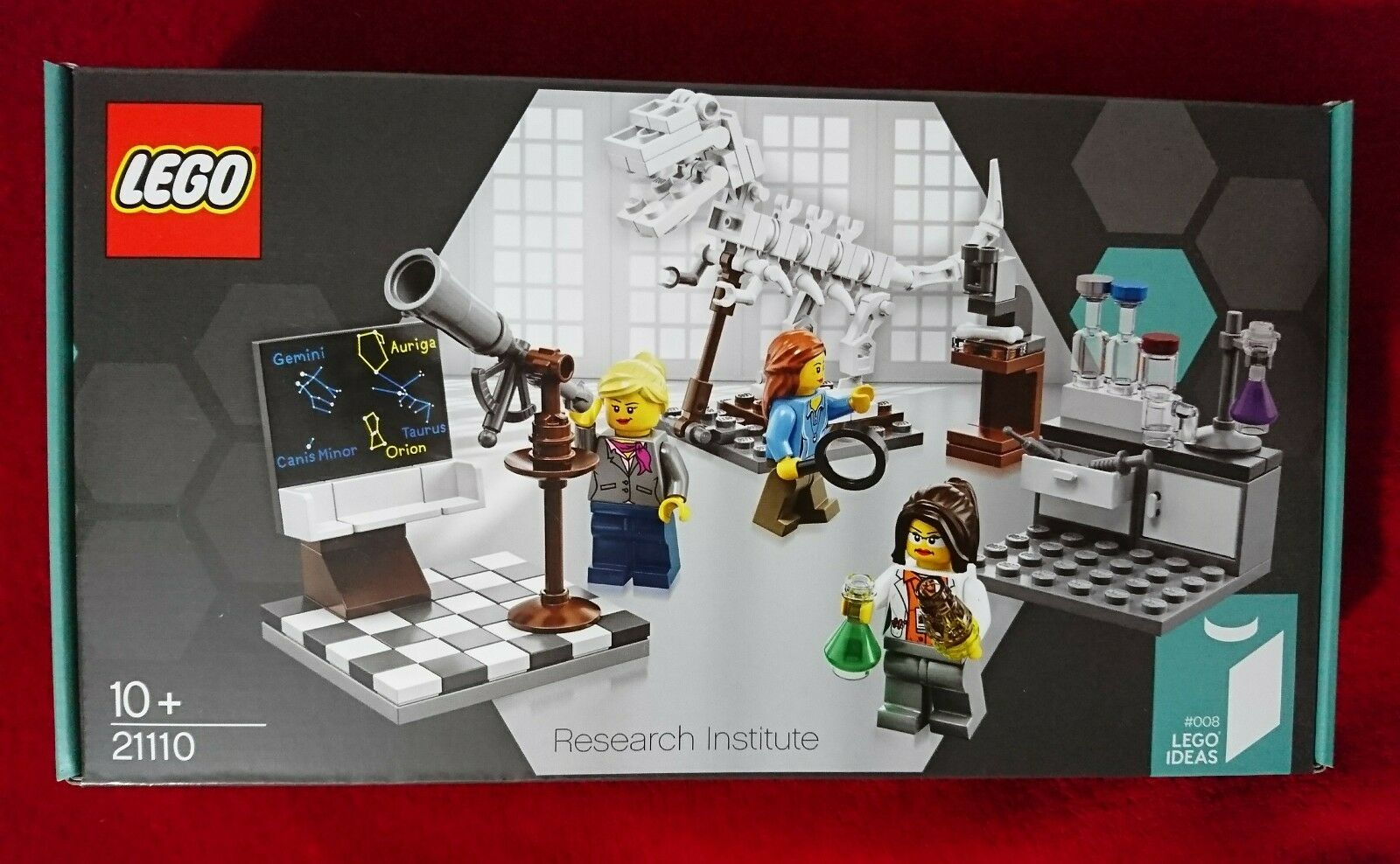 LEGO Ideas ()  RESEARCH INSTITUTE  Rare 21110 Limited Edition New Sealed Box