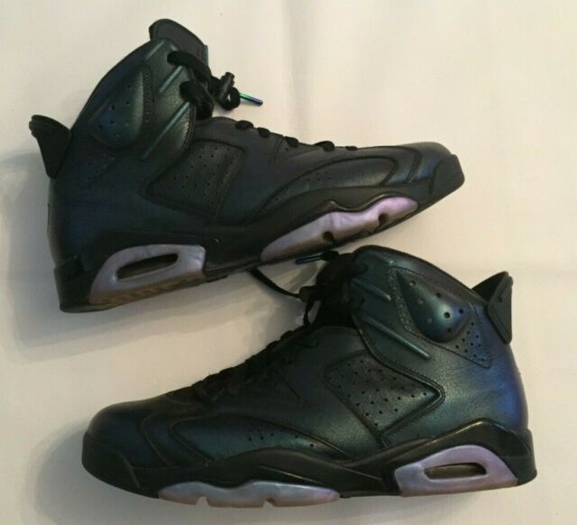 pretty nice f62bd 35eec NIKE AIR JORDAN 6 RETRO ALL STAR CHAMELEON BASKETBALL SHOES 907961-015 SZ  11.5