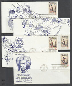 US-Planty-1470-J-R-FDC-1972-Tom-Sawyer-by-Norman-Rockwell-Coulson-FIRST-CACHET