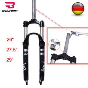 MTB-Fahrrad-Fruehling-Gabel-26-27-5-29-Mechanische-Stoss-Abs-Gabeln-Scheibenbremse