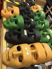 NEW REALISTIC ABS HARDSHELL HALLOWEEN FACE MASK - Black Green Airsoft Protection