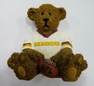 Washington-Redskins-NFL-Football-Ceramic-Mini-Teddy-Bear-Figurine-by-Elby-Gifts
