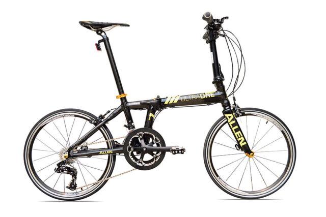 Allen Sport Ultra 1 Lightweight Carbon Fiber Folding Bike - 20 Geschwindigkeiten