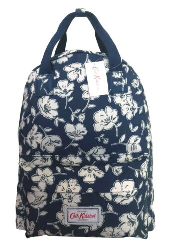 Gift Kidston New Mother's Navy Poppies Mono sale Backpack Day Cath wqd8vw