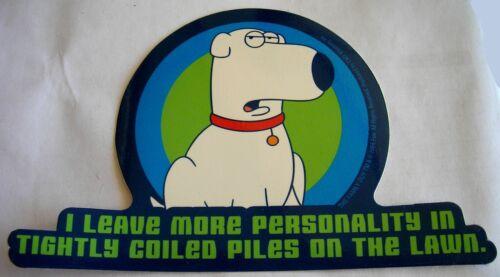 Brian Family Guy Licensed Stcker Retired authentic sticker