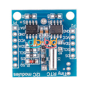 New-I2C-RTC-DS1307-AT24C32-Real-Time-Clock-Module-For-Arduino-AVR-PIC-HF-ARM