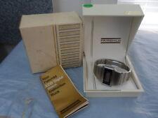Vintage Fairchild Stainless Steel Men's Timeband Quartz LCD Watch FC1337 1337