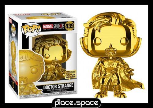 MARVEL STUDIOS 10 ans-Docteur Strange Vinyl Figure #439 Chrome FUNKO POP