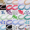 20pcs 15x10mm Teardrop Faceted Crystal Glass Jewelry Making Loose Spacer Beads