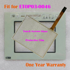 Protective Film One Year Warranty New for Uniop ETOP03-0046 Touch Screen Glass