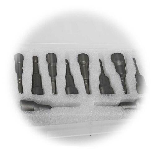 Conexión llave puntas hexagonal exterior 6-15mm vaso-set magnético bits nuez