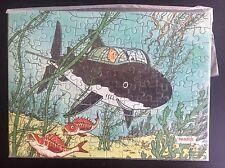 TRES Rare Puzzle plat Tintin Andros ETAT NEUF