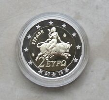 """Griechenland 2018 - 2 Euro Normal -""""Europa"""" aus KMS in PP / Proof"""