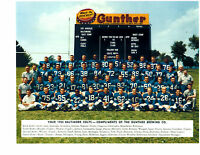 1954 Baltimore Colts 8x10 Team Photo Gunther Shula Football Nfl Hof Usa