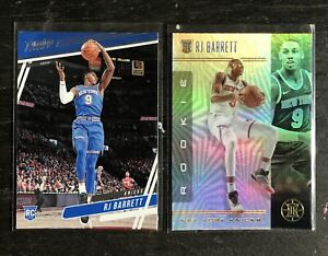 2019-20 RJ Barrett Lot Basketball Cards