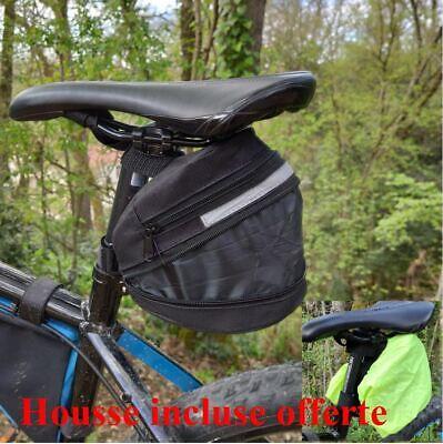 Sacoche//Sac//Etui//Trousse Waterproof de Vélo Fixé sur Cadre Envoi Rapide Soigné